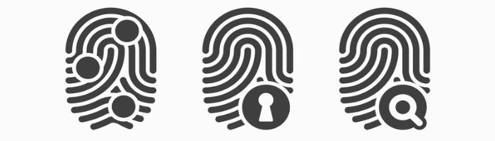 Banner veiligheid persoonsgegevens, laat pentest of ethical hacking uitvoeren. Of zorg voor programma security awareness