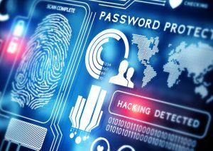 Plaatje van beveilgingsscherm tegen hackers